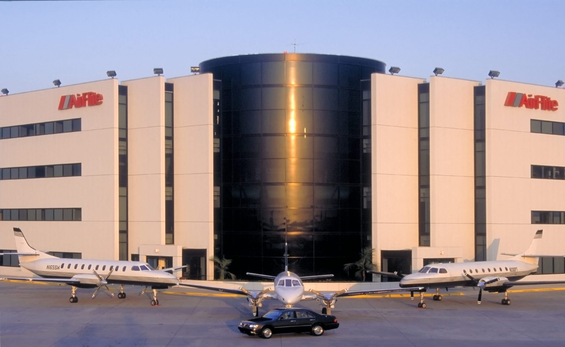 Luxury transportation - car and airplanes