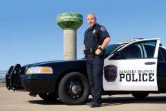 Farmers Branch Police Officer