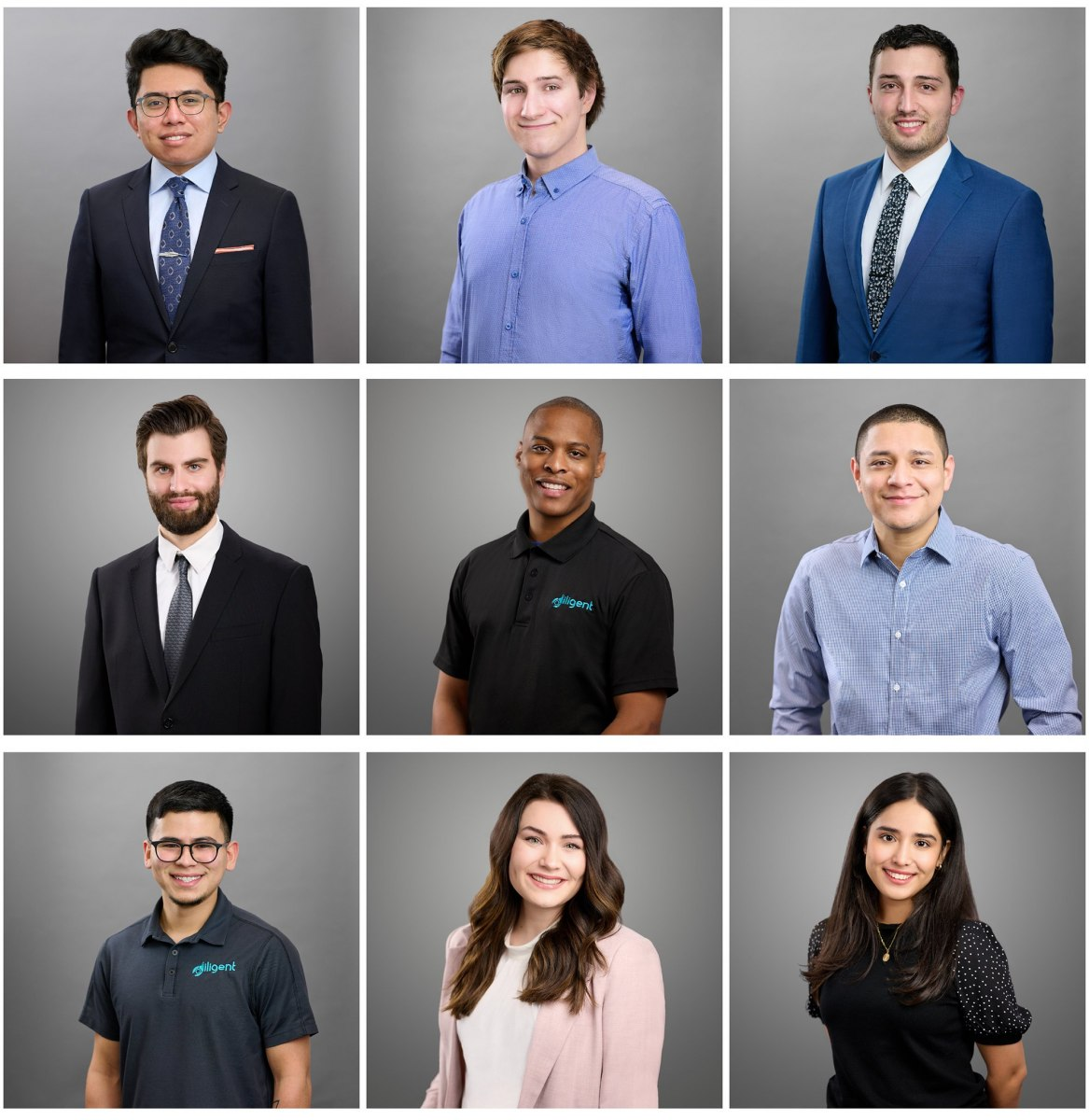 Headshots of the entire office team