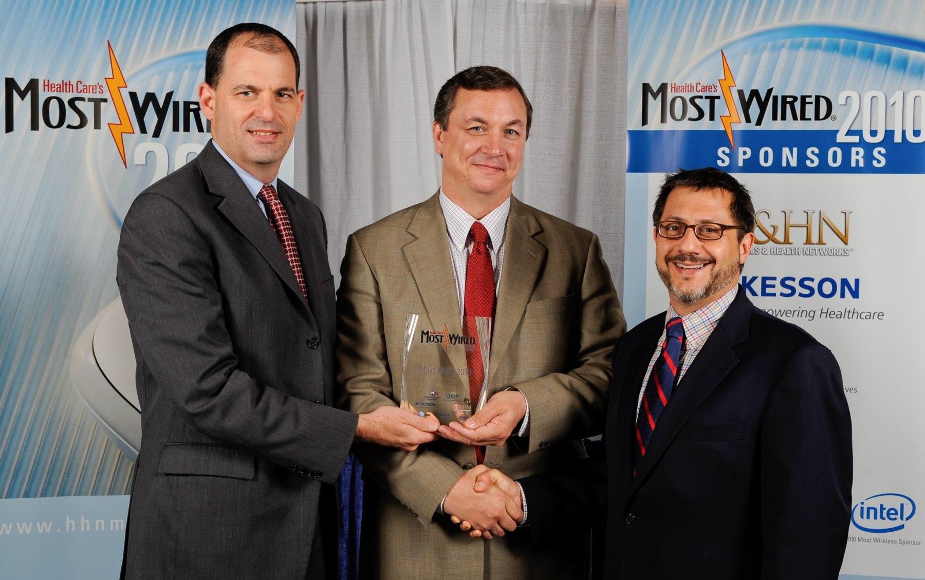 Awards presentation by conference sponsors