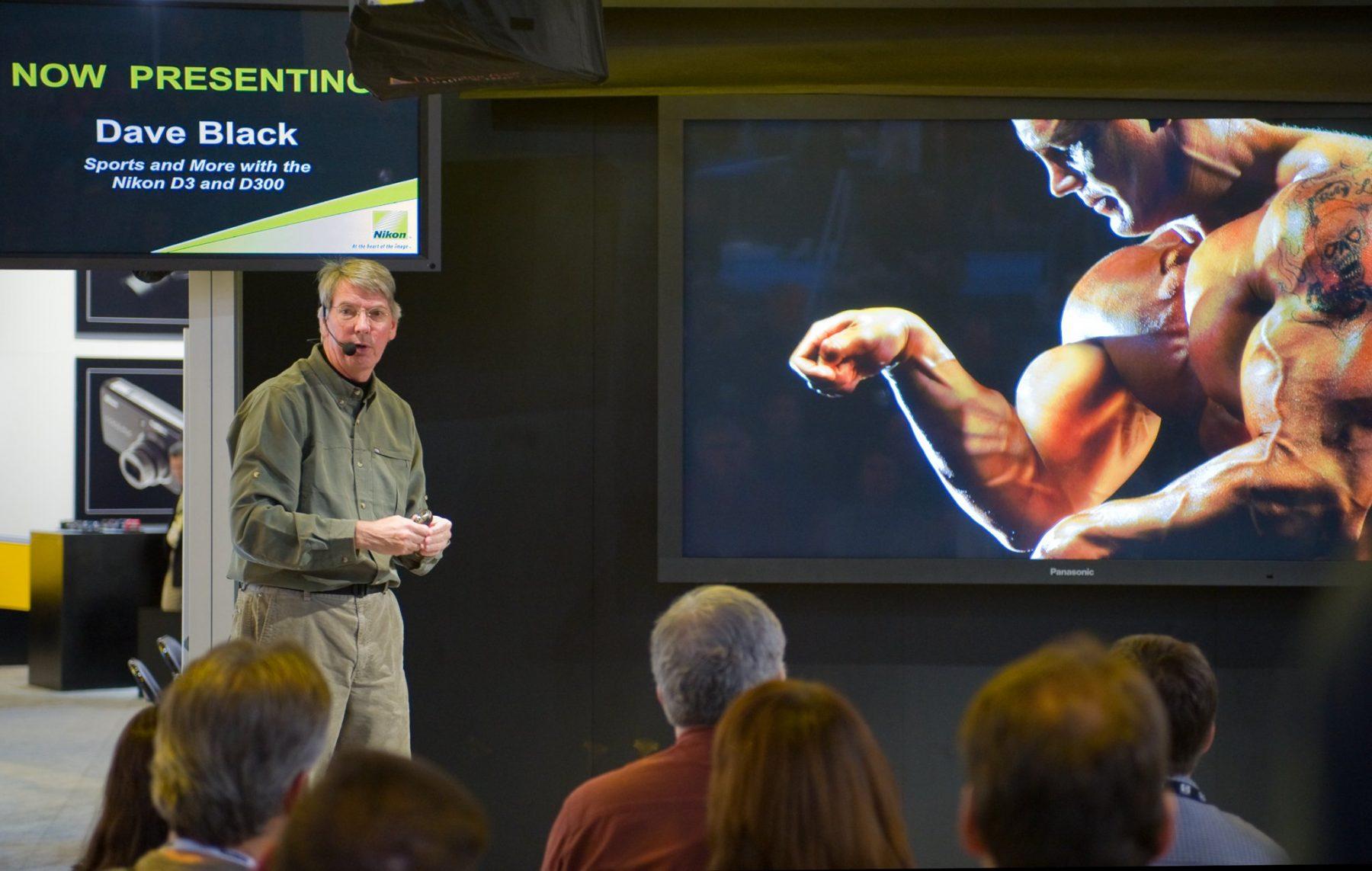 Dave Black presents for Nikon