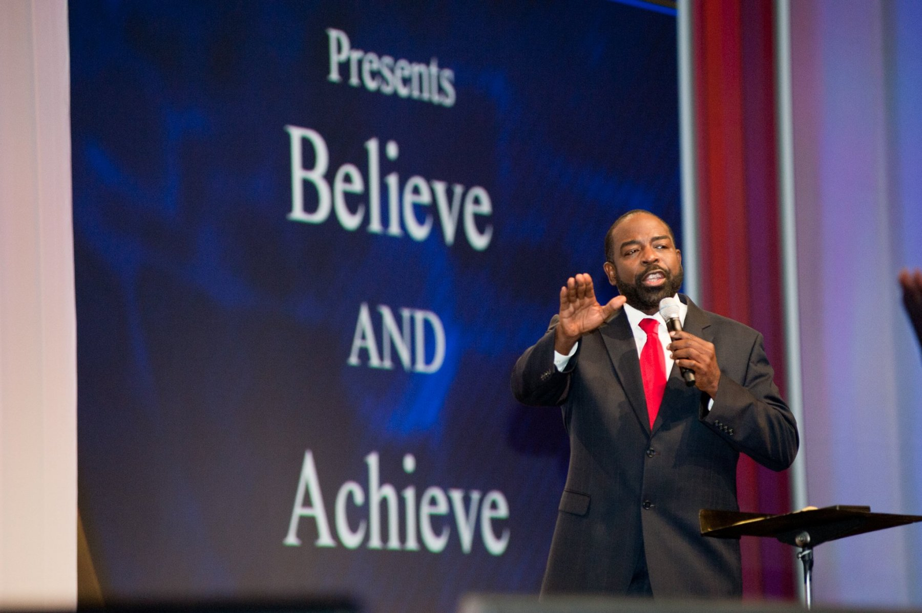 Keynote speaker Les Brown