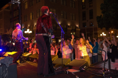 Super Diamond Concert in the streets of San Diego