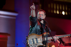 Gary Sinise performs with the Lt Dan Band