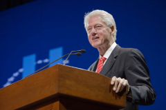 President Bill Clinton at CGI-U