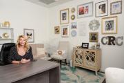 Executive portrait of Camera Ready Cosmetics founder Mary Erickson
