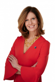 Executive portrait of Susan Salka, CEO of AMN Healthcare