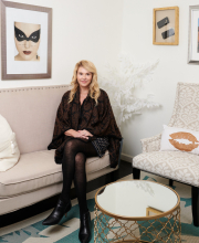 Executive portrait of Mary Erickson, founder of Camera Ready Cosmetics