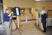 Bank photography setup