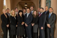 San Diego business team on location
