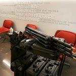 Morton Visuals' equipment cart on location in Dallas