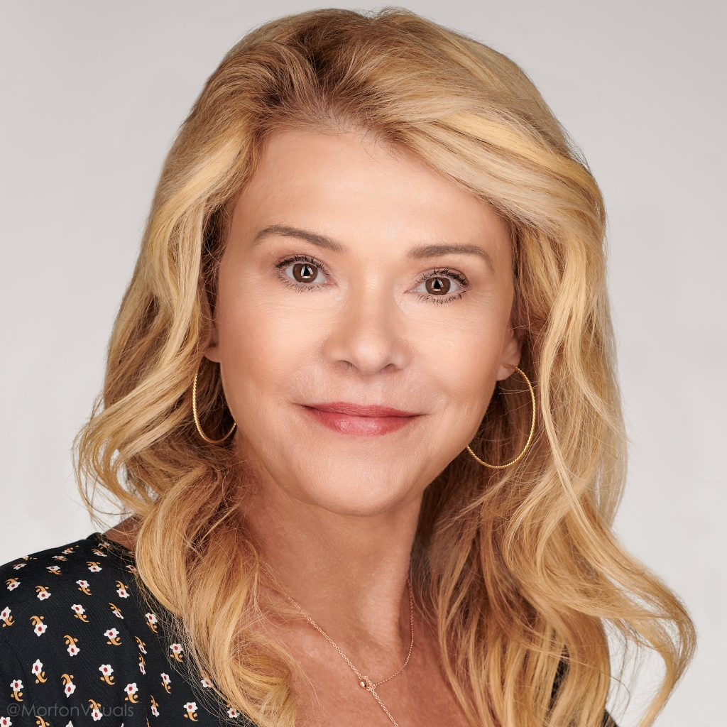 Professional makeup artist Mary Erickson