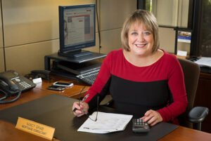 Executive portrait of Nancy Grab for Five Star Professionals' feature