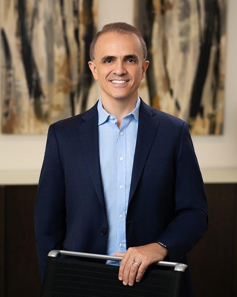 CEO Carlos Vaz