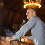 Incoming ARPA Chairman Brad Belt speaks at the ARPA conference at the Hotel del Coronado