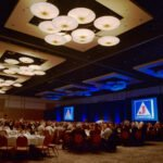 event photography ofconference banquet at the Hilton San Diego Bayfront