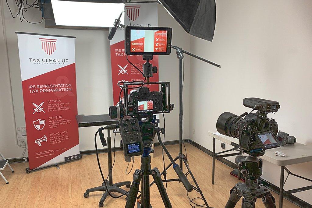 setup to record video